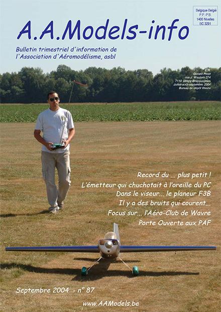 AAModels-info septembre 2004