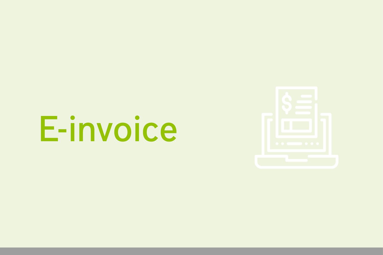Digitalisation of invoicing