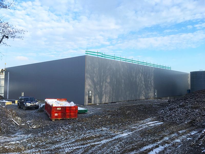 Nouveau bâtiment