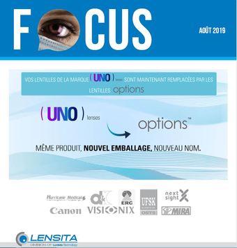 Focus Lensita - Août 2019