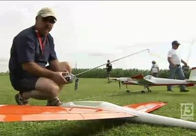 Remorquage de planeurs R/C à Bonneville