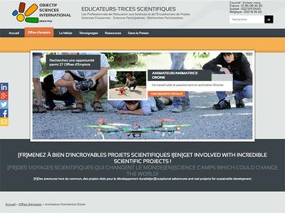 Jobs d'été : animation aéromodélisme