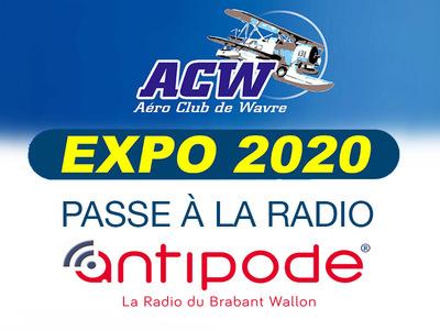 L'expo 2020 de l'ACW passe à la radio