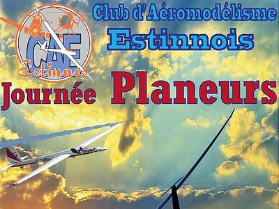 Journée Planeurs au Club d'Aéromodélisme Estinnois