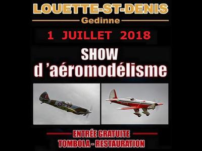 Meeting d'aéromodélisme à l'aéro-club Les Faucons