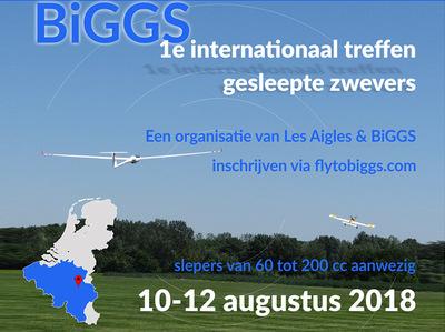 Rencontre BIGGS - grands planeurs 2018