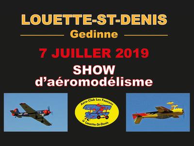 Show d'aéromodélisme au club LES FAUCONS
