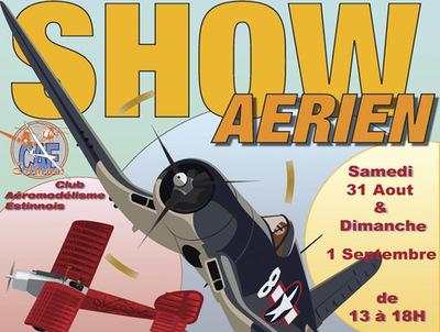 Grand Show Annuel au Club d'Aéromodélisme Estinnois