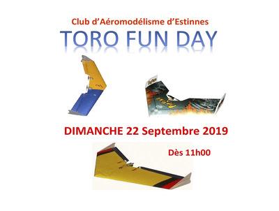 Toro Day au Club d'Aéromodélisme Estinnois