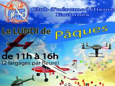Paque au Club d'Aéromodélisme Estinnois
