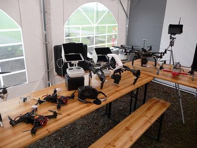 Journée Multicoptères + Brocante Spécifique au Royal Model Club du Chaufour