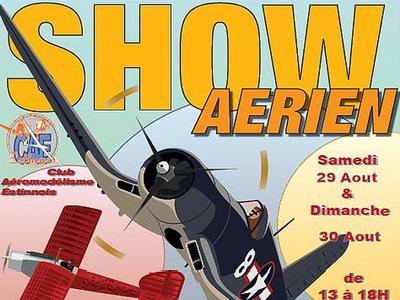 Grand Show Annuelle au Club d'Aéromodélisme Estinnois