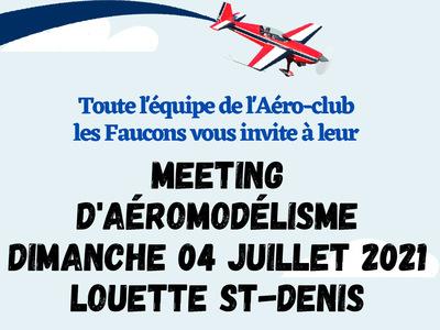 Show annuel d'aéromodélisme à Aéro-club Les Faucons