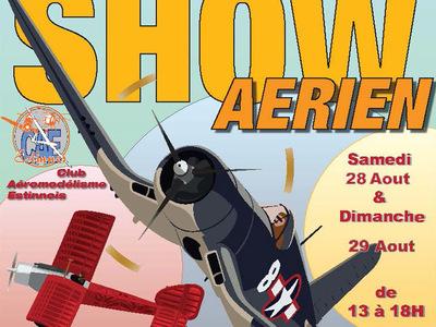 Show annuel au club d'Aéromodélisme Estinnois