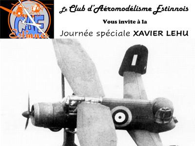 journée spéciale Xavier Lehu au Club d'Aéromodélisme Estinnois