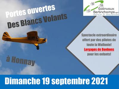 Portes ouvertes aéromodélisme 2021 Blancs Volants D'Honnay